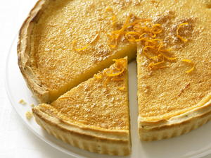 Orange and Rosemary Tart
