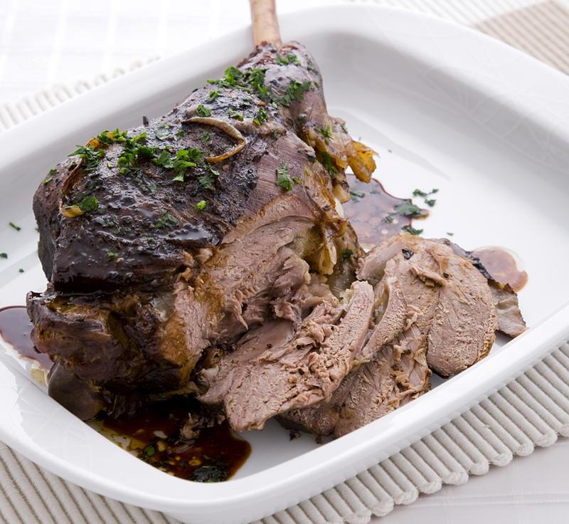 Slow-roasted Greek Lamb | Cookstr.com