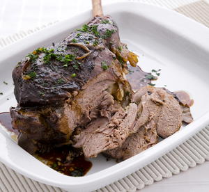 Slow-roasted Greek Lamb