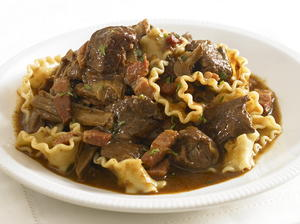 Ragout of Venison with Wild Mushrooms