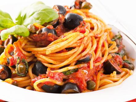 Recipes capers pasta
