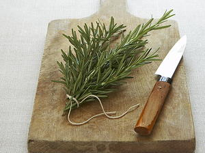 Oceanus's Oversized Pita with Oregano and Rosemary