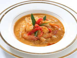 Red Curry Shrimp with Pineapple