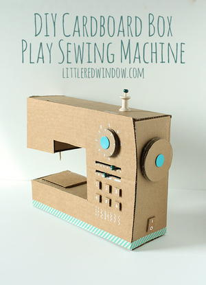 play sewing machine