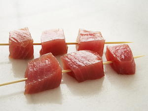 Yellowfin Tuna Kabobs