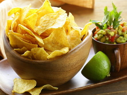 Fried tortilla chips for What can i make with tortilla chips