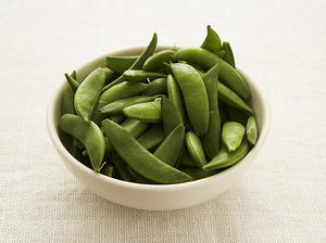 Fresh Peas with Prosciutto
