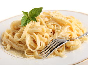 Fettuccine with Butter and Cheese