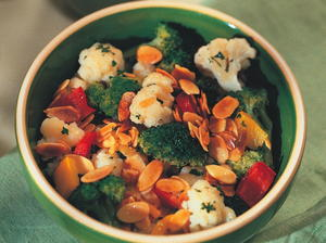 Company Vegetables with Toasted Almonds