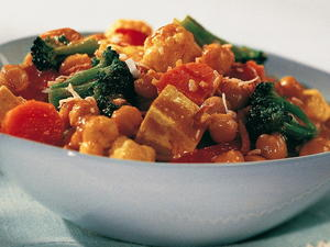 Curried Vegetables with Tofu