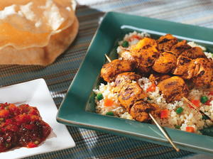 Indian Chicken Kebabs