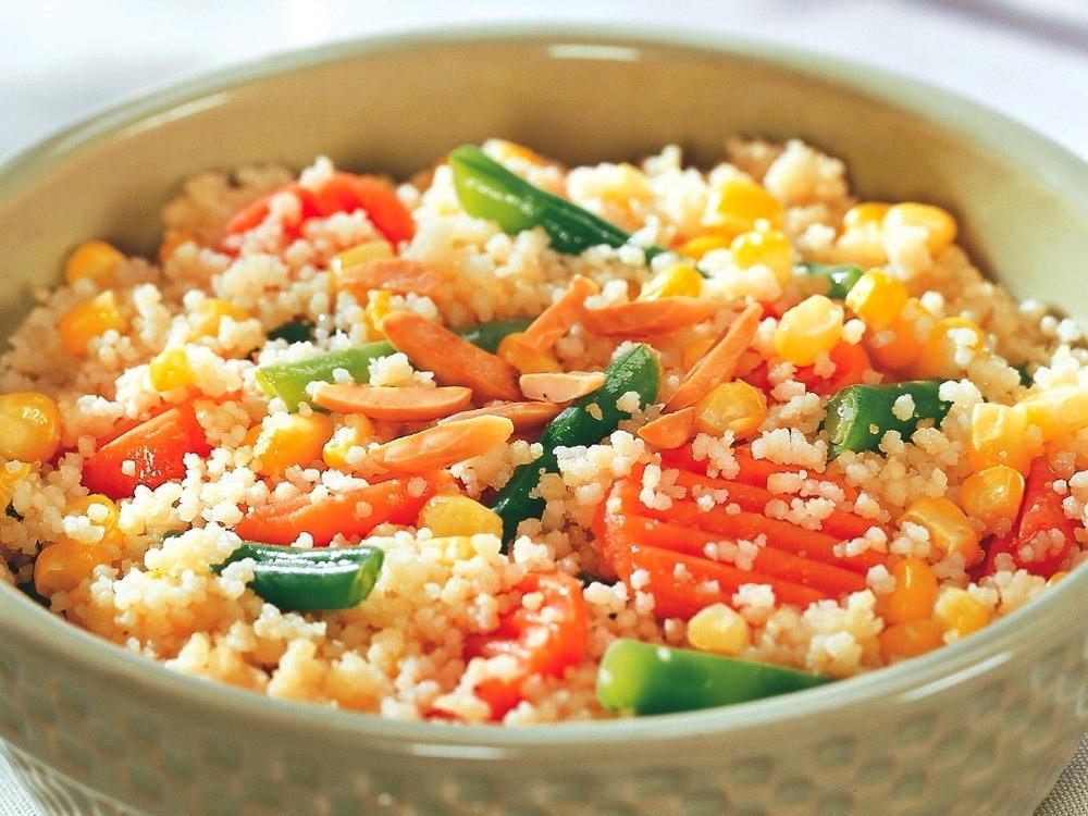 Couscous with Vegetables   Cookstr.com