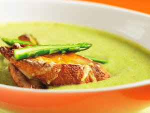 Fontina and Asparagus Soup