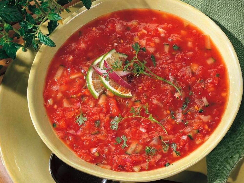 Easy Chilled Gazpacho