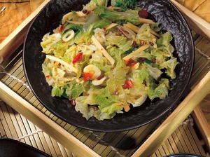 Chinese Spicy Pickled Napa Cabbage