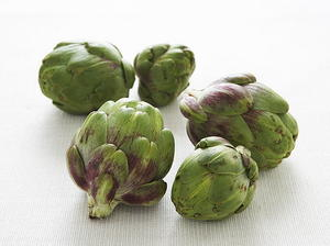 Baby Artichokes and Two Sauces
