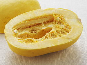 Spaghetti Squash with Curried Squash Sauce