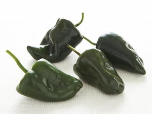 Parching Green Chiles