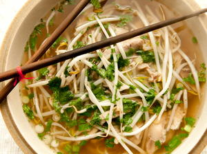 Spiced Hanoi Chicken Noodle Soup
