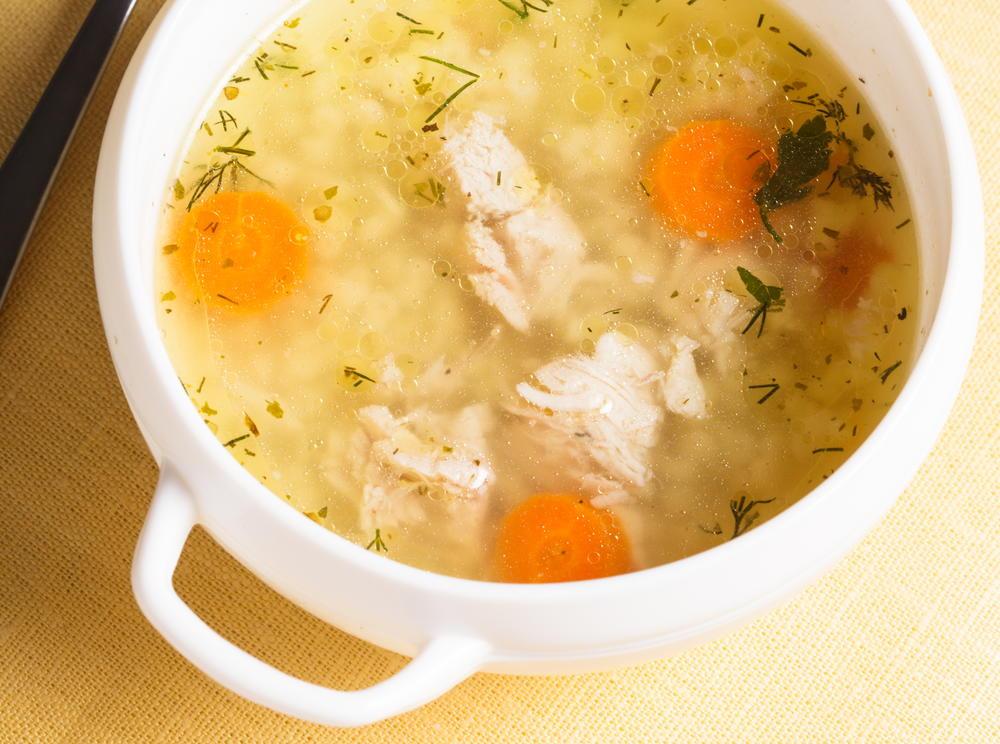 Basic Chicken Soup Cookstr Com