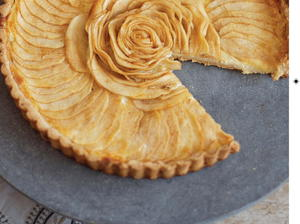 Fall Pear and Ginger Tart