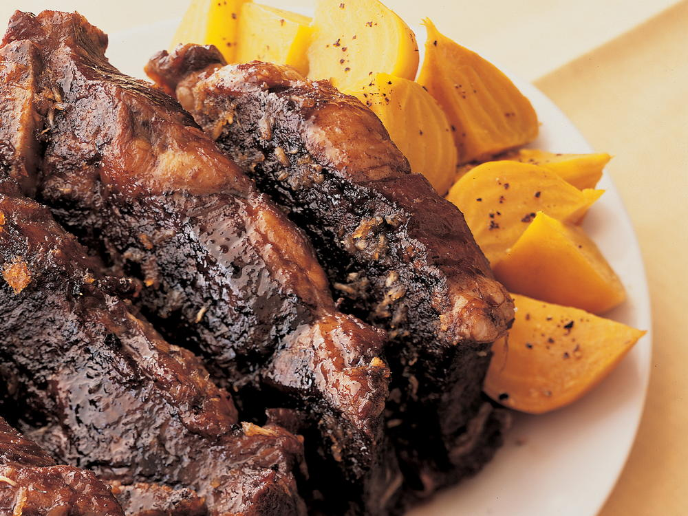 Short Ribs Braised in Porter Ale with Maple-Rosemary Glaze ...