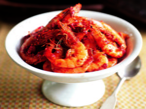 Stir-Fried Shrimp Sambal