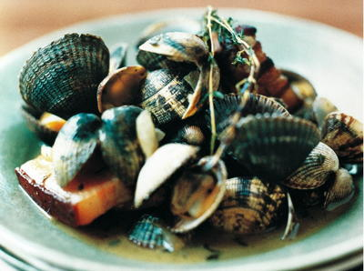 Clams with Bacon