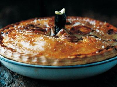 Deep-Dish Chicken Pie