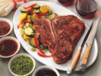 Grilled T-Bone Steak for Two | Cookstr.com
