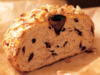 New Zealand Almond and Fig Bread | Cookstr.com