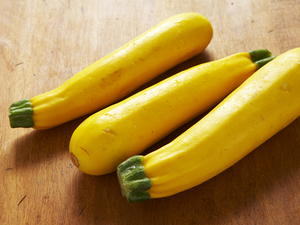 Green and Yellow Squash Ribbons