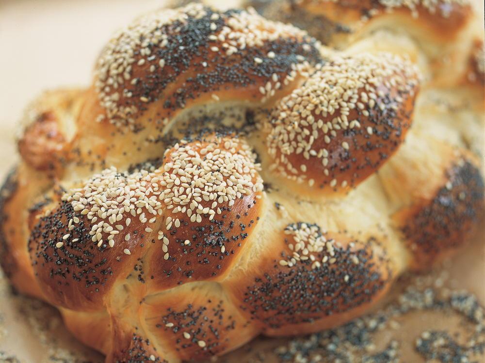 A Six-Strand Braided Challah Recipe — Dishmaps