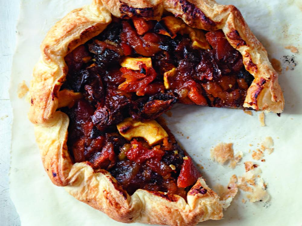 Rustic Dried Fruit Tart Cookstr Com