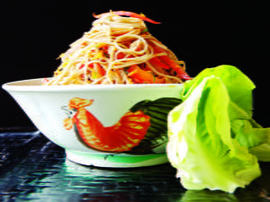 Soba Noodle Vegetable Salad