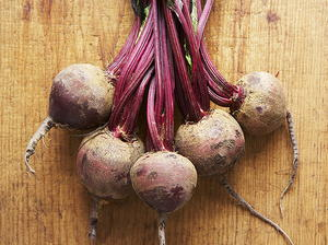 Slow-Roasted Beets with Walnut Gremolata