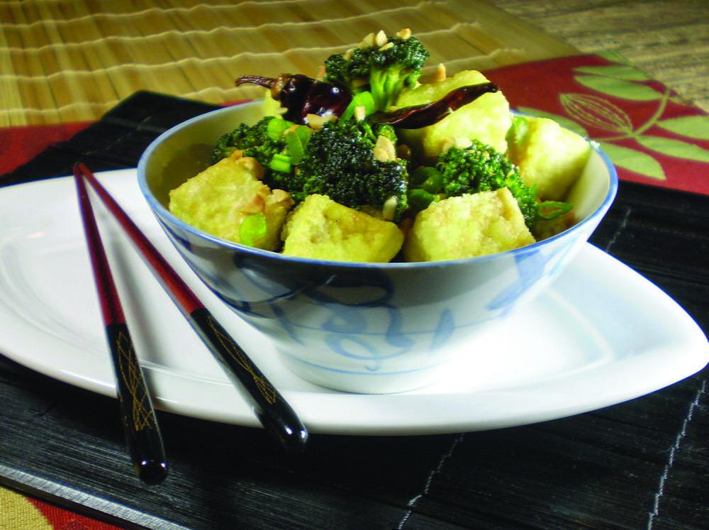 Kung Pao Broccoli and Tofu   Cookstr.com