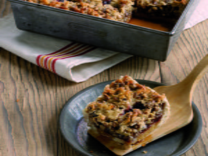 Chewy Cherry Squares