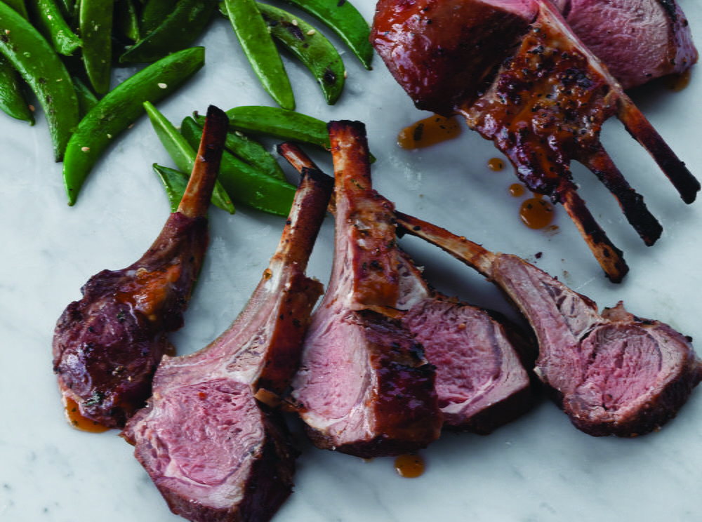 Basic Roasted Rack Of Lamb Cookstr Com
