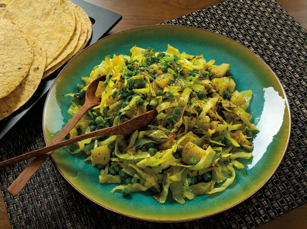 Punjabi Style Cabbage Cookstr Com