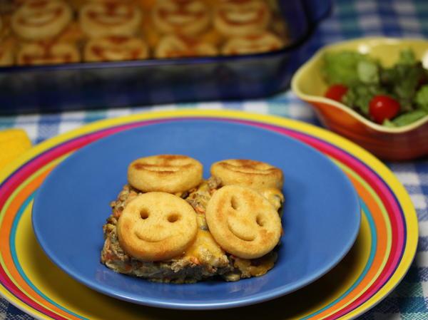 Smiley Face Casserole