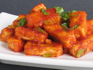 Red Hot Chile Tofu