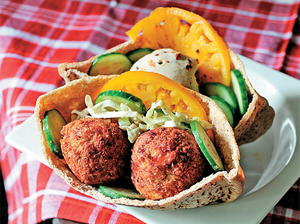 Falafel and Tahini Sauce