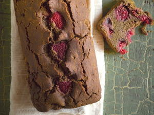 Raspberry-Rooibos Tea Bread