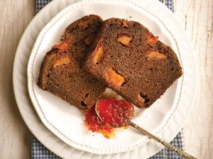 Peach Ginger Bread