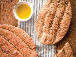 Iranian Barbari Flatbreads