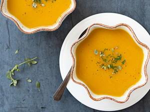 Golden Winter Squash Soup