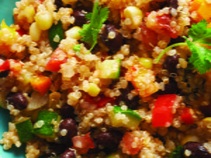 Peruvian Quinoa and Vegetable Salad