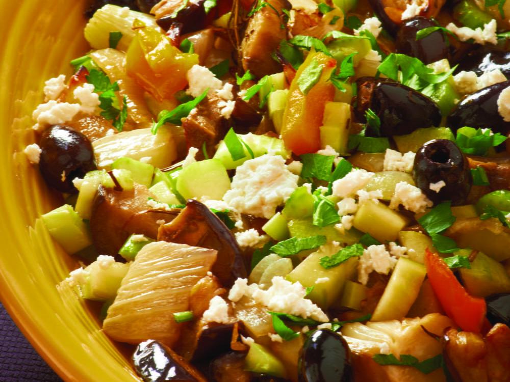 Armenian Roasted Eggplant Salad