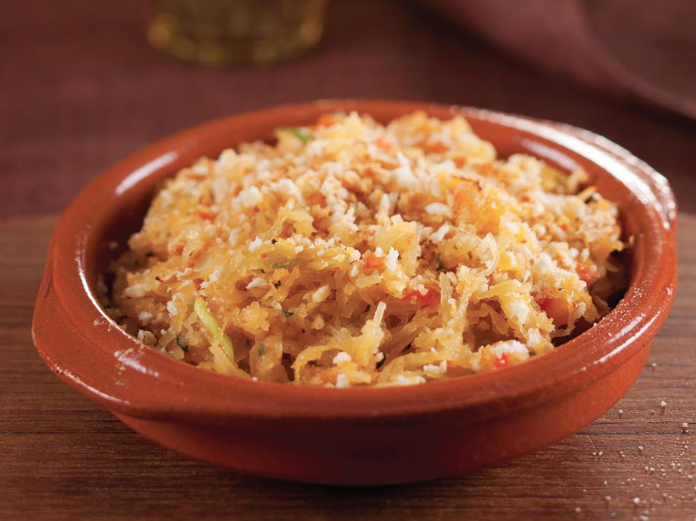 Baked Spaghetti Squash with Tomato Fondue | Cookstr.com